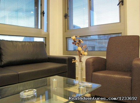 apartment - livingroom - Atarim Suites