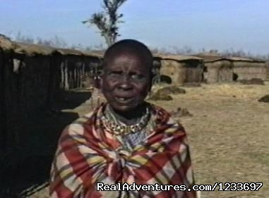 Africa Safari in Kenya Masai Woman