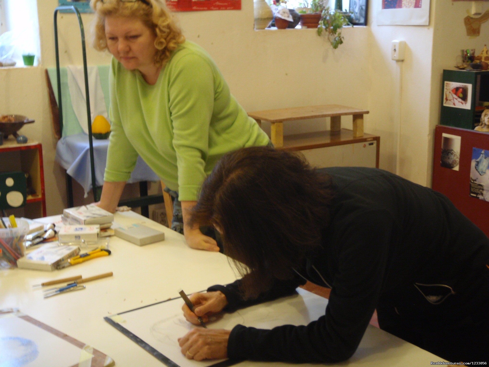 Drawing class with Tatiana Irbis | Image #2/24 | artbreak(TM) Arts Immersion Vacations