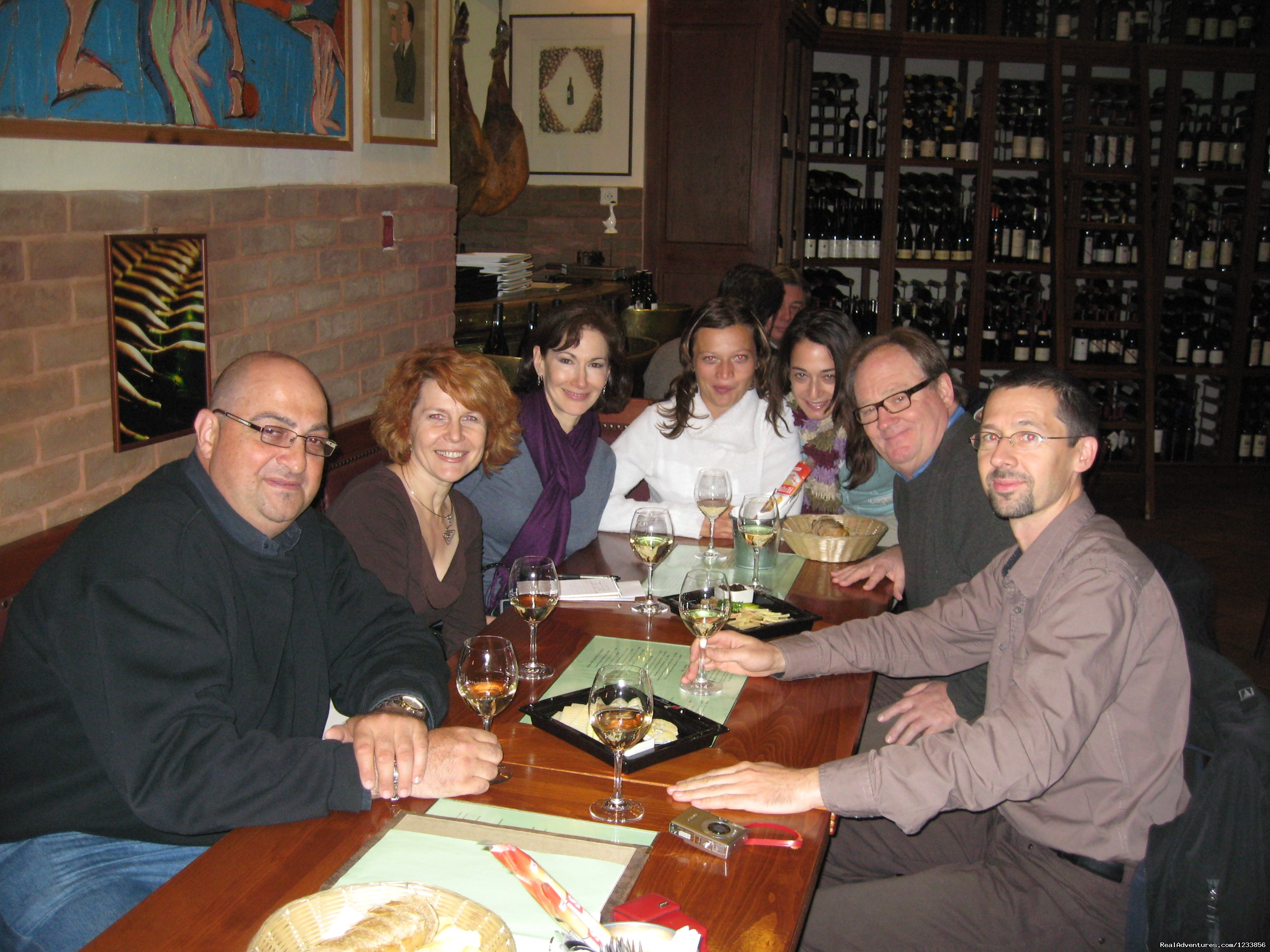 Wine & cheese tasting at Monarch | Image #3/24 | artbreak(TM) Arts Immersion Vacations
