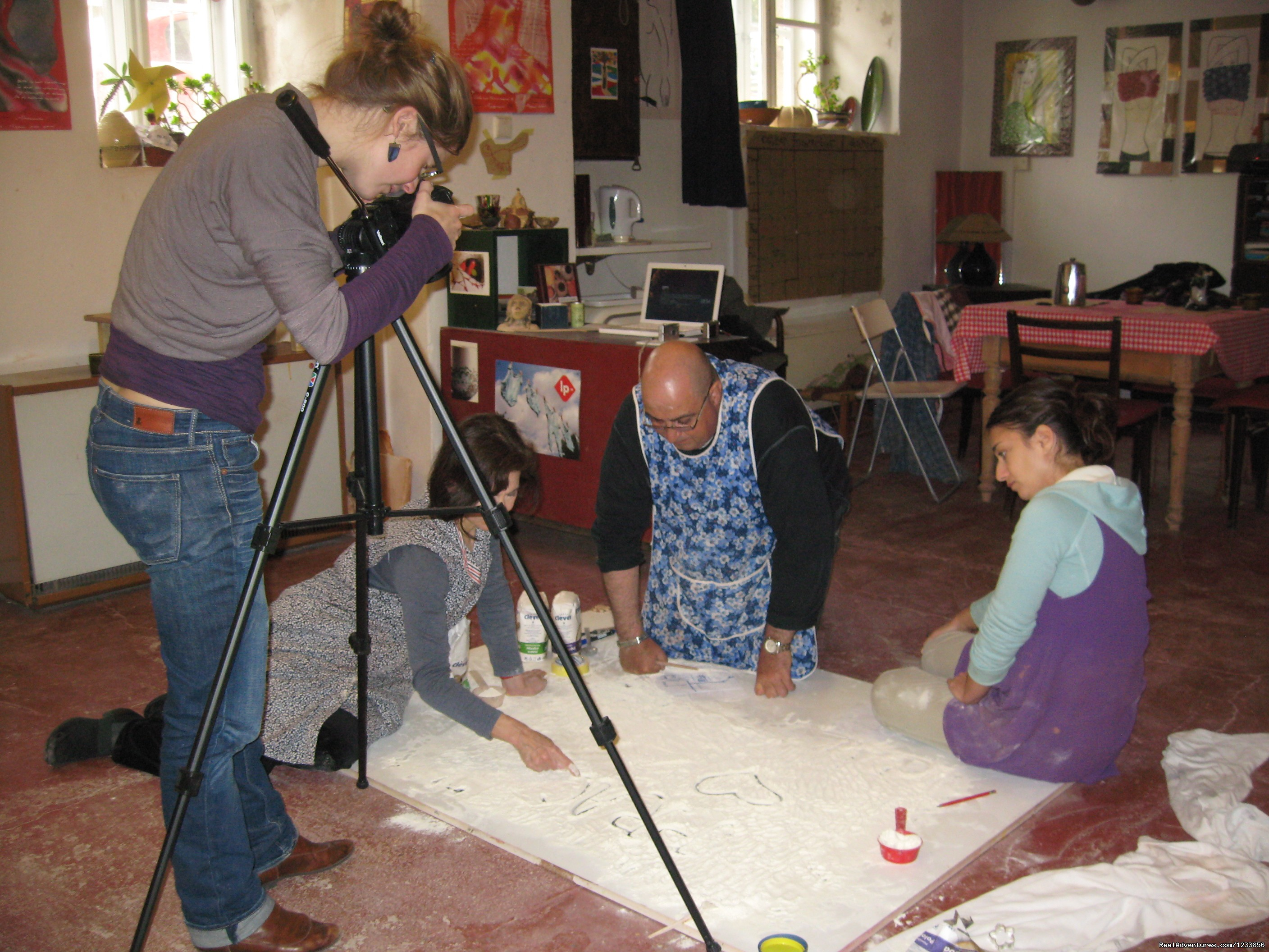 Film animation workshop in progress | Image #4/24 | artbreak(TM) Arts Immersion Vacations