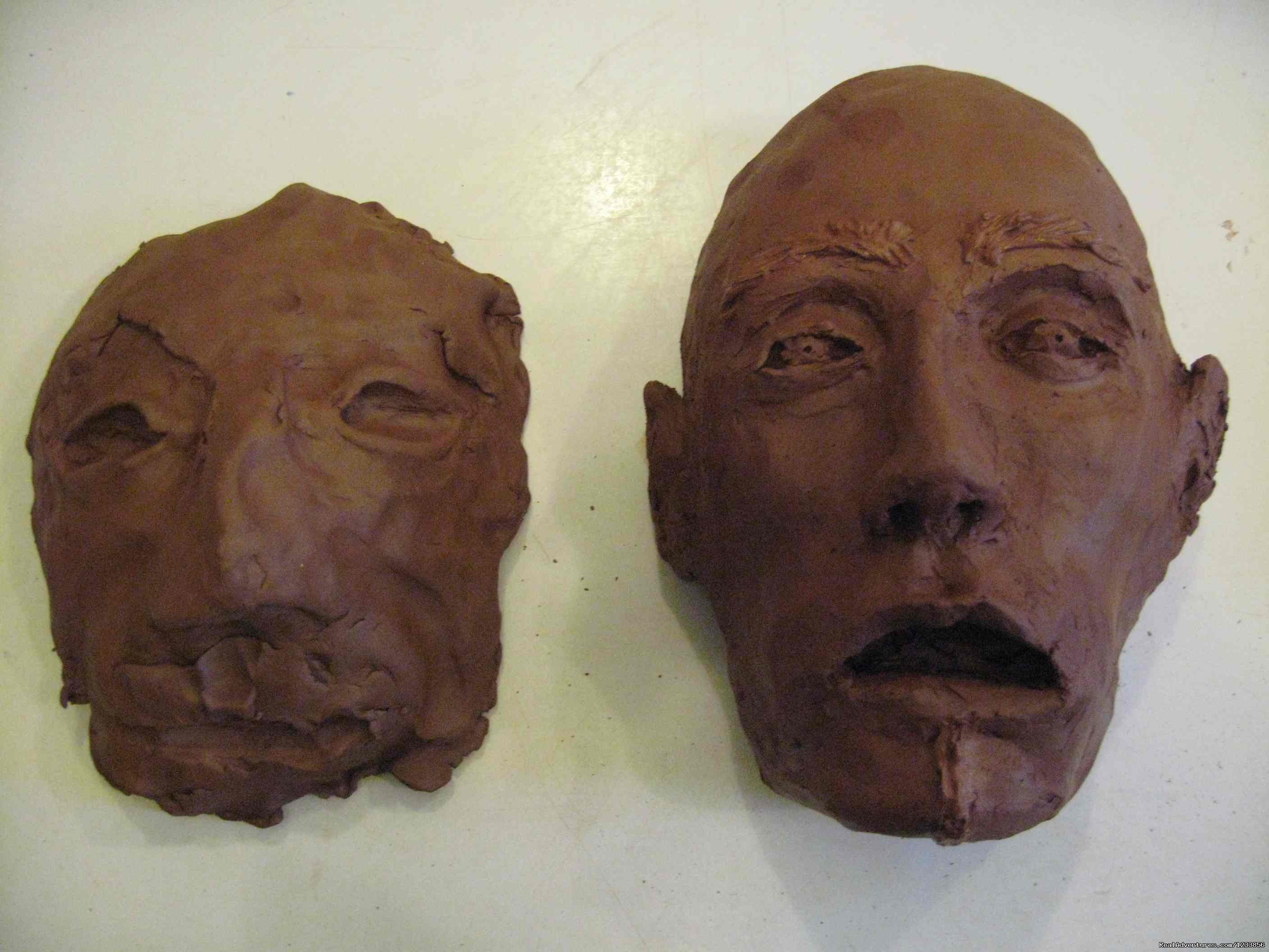 Masks by participant from Australia | Image #19/24 | artbreak(TM) Arts Immersion Vacations