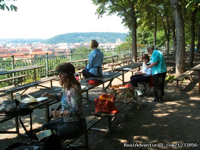 Plein Air painting with Jann Pollard | Image #23/24 | artbreak(TM) Arts Immersion Vacations