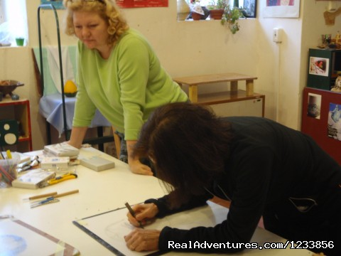 Drawing class with Tatiana Irbis - artbreak(TM) Arts Immersion Vacations in Prague