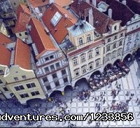 Old Town Square from Above - artbreak(TM) Arts Immersion Vacations