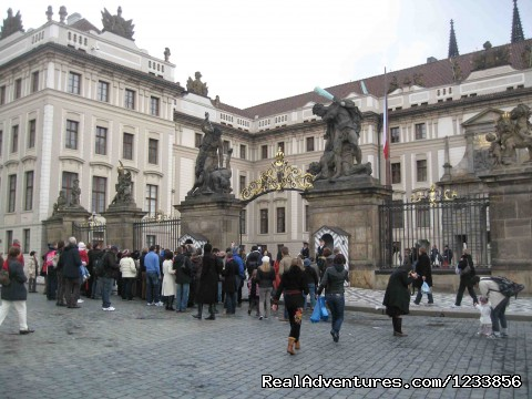 Changing of the guard at Prague Castle - artbreak(TM) Arts Immersion Vacations