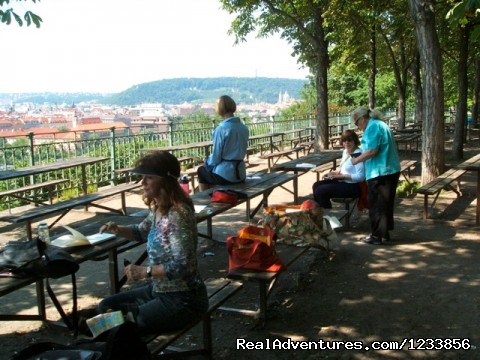 Plein Air painting with Jann Pollard (#23 of 24) - artbreak(TM) Arts Immersion Vacations in Prague