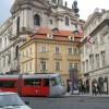 Tram in Lesser Town