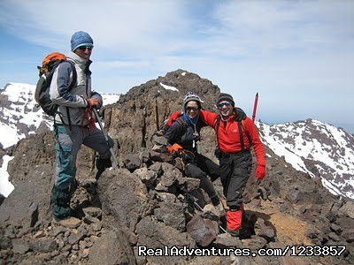 The summit of Jbel Toubkal (#2 of 9) - Trek in Morocco