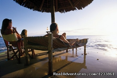 Sundowners in Mozambique - Nomad Africa Adventure Tours