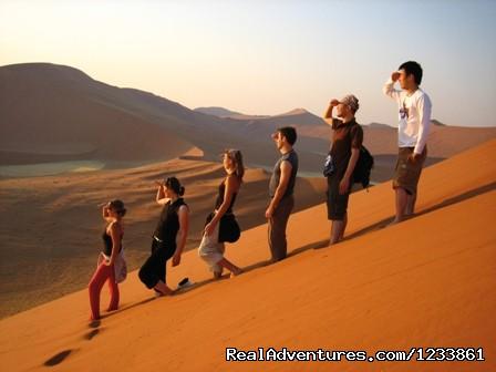 Namib Dunes - Nomad Africa Adventure Tours