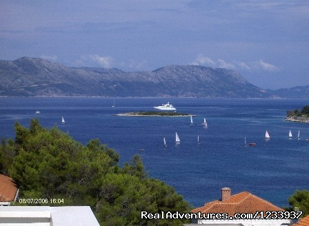 Viev From Apartment - Apartments Luka
