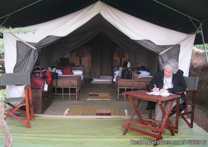 Tented camp | Image #5/21 | 7 Days 6 Nights Great Wildebeests Migration Safari