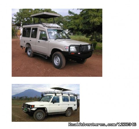 Extended Land Cruiser for Lodge Safari Vehicles - 7 Days 6 Nights Great Wildebeests Migration Safari