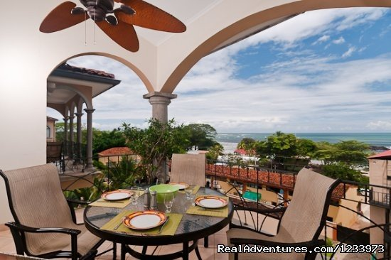 From this new, gorgeous penthouse condominium, you can comfortably watch the sun set over Tamarindo beach from the privacy of your own balcony nightly.