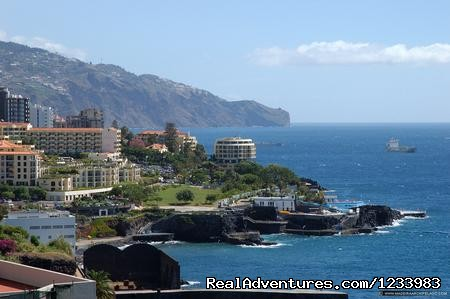 Rent of a seaside lovely holiday flat in Madeira Coast walk from Sao Martinho to Funchal