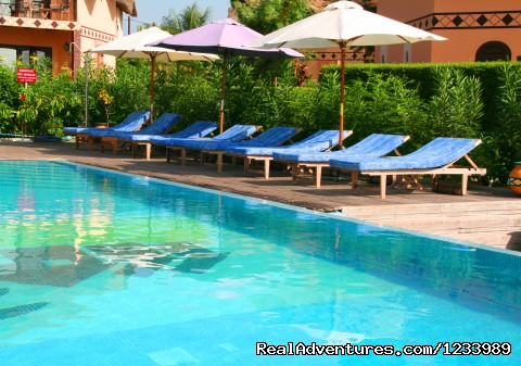 Swimming pool - Les Alizes Beach Resort (Cap Skirring, Senegal)