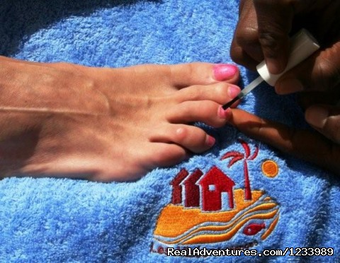 Pedicure - Les Alizes Beach Resort (Cap Skirring, Senegal)