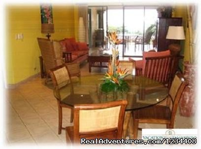 Beautifully appointed third story condominium located directly across the street from the white sand beach of Playa Tamarindo and walking distance to the towns restaurants, shops and nightlife