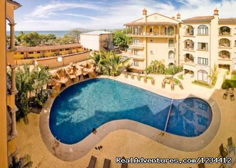 Great Pool in Sunrise Tamarindo - Great Ocean Views - Condo in Tamarindo Beach Resor