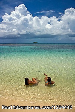 in the water at South Water Caye (#8 of 17) - FLY FISHING in Belize