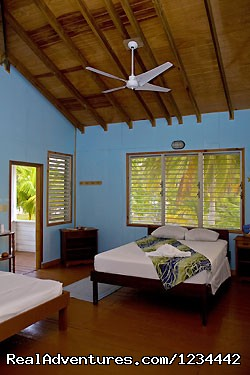 Clean accommodations at South Water Caye (#7 of 17) - FLY FISHING in Belize