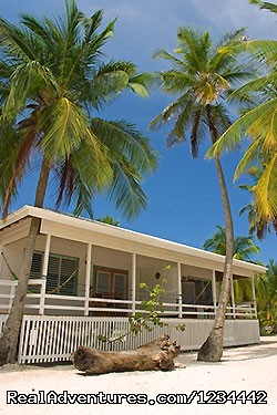 cottages  at South Water Caye - FLY FISHING in Belize