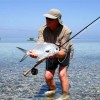 FLY FISHING in Belize fly fishing for permits belize
