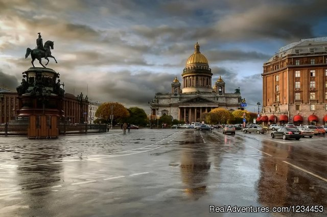 Moscow,St.Basils Cathedral. - Budget Trans-Siberian Railway Tours B&B