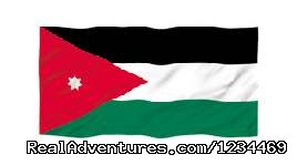 Flag Of Jordan - Touring Jordan Private driver guide