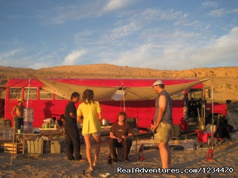 Sunset on the Beach - Baja Trek - Budget Eco-Travel in Baja California