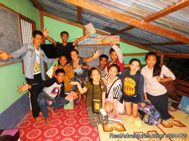 - School Volunteer Experience Laos
