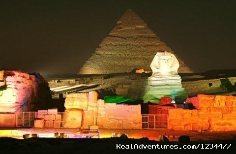 great pyramids  - Example of our programs: Tour to Cairo & Luxor 5 D