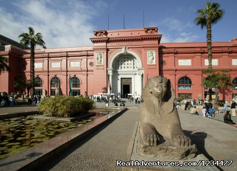 Egyptian Museum - Example of our programs: Tour to Cairo & Luxor 5 D