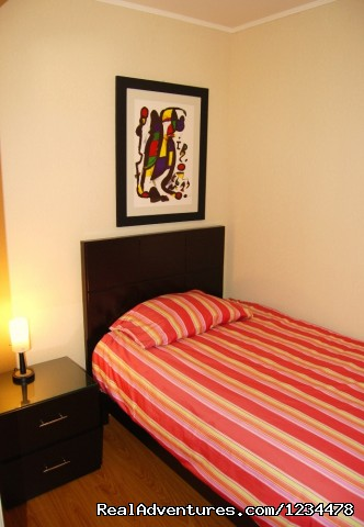 Guest Bedroom - Brand new luxury condo in Av. Larco, Miraflores