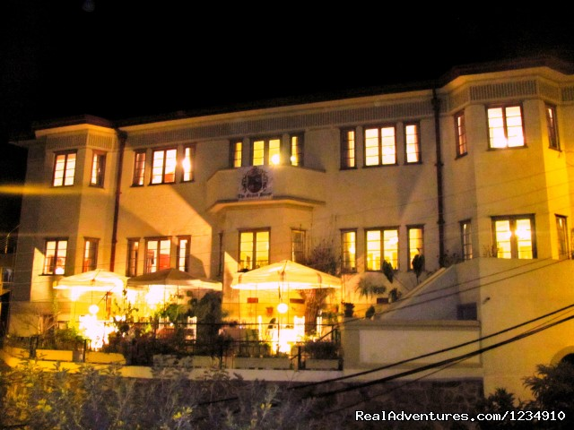 The grand house B&B  vista nocturna - The Grand House Valparaiso Chile