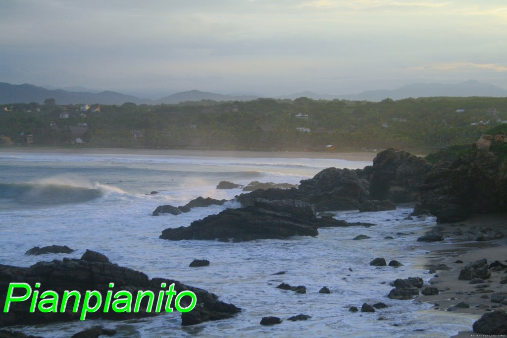 Pianpianito is a Special place in Puerto Escondido. Great for Surfing!