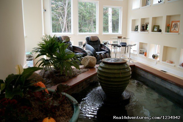 The Glass House in the Heart of  Hocking Hills Logan, Ohio  Vacation Rentals