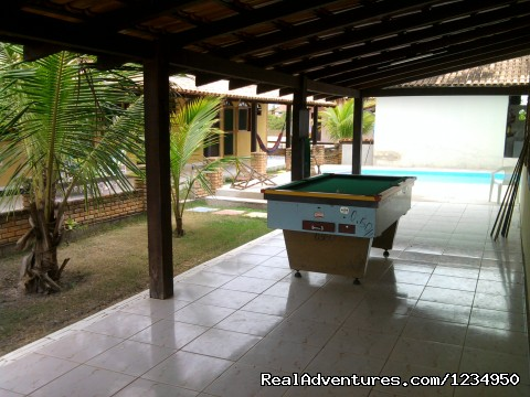 Pousada Aquavilla Prado (B&B) - Pool table - Relax and security in Brazil at Pousada Aquavilla