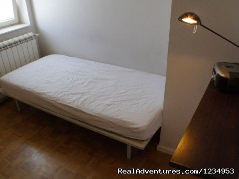 SINGLE BED ROOM - Belgrade apartments - apartment - downtown