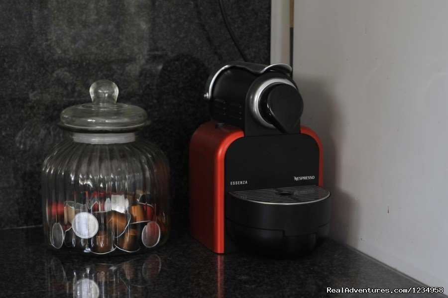 Coffee Machine | Image #7/9 | Deluxe Apartment for Vacation Rental in Tel Aviv
