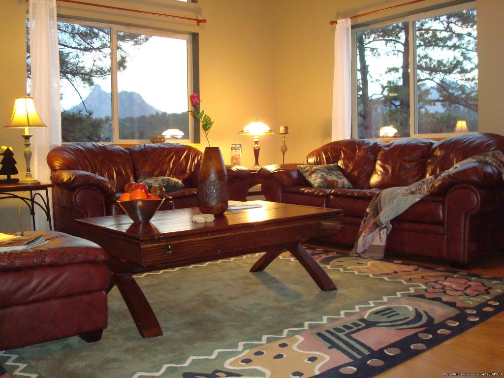 Beautiful Mountain Views from Living Room Windows | Image #4/26 | Pikes Peak Retreat In Pikes National Forest