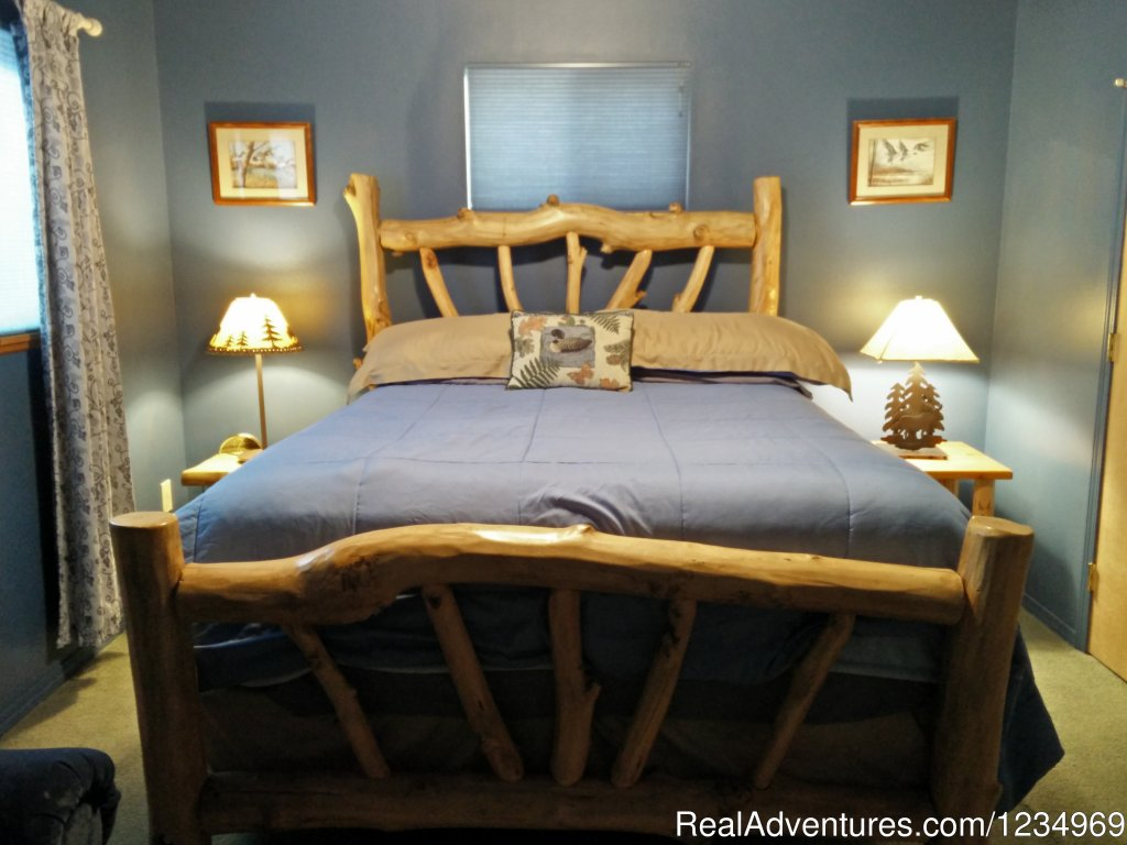 Second Bedroom/Queen Size bed | Image #12/26 | Pikes Peak Retreat In Pikes National Forest