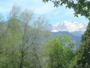 Pikes Peak Cottage By Garden Of The Gods: Mnt View Vacation Rentals Colorado Springs, Colorado