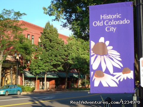 Historic District of Old Colorado City - Pikes Peak Cottage By Garden Of The Gods: Mnt View