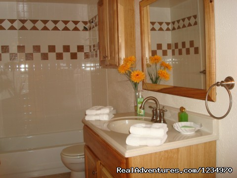 Large Bathroom Has Been Remodelled - Pikes Peak Cottage By Garden Of The Gods: Mnt View