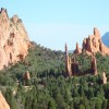 Garden of the Gods is less than 2 miles away