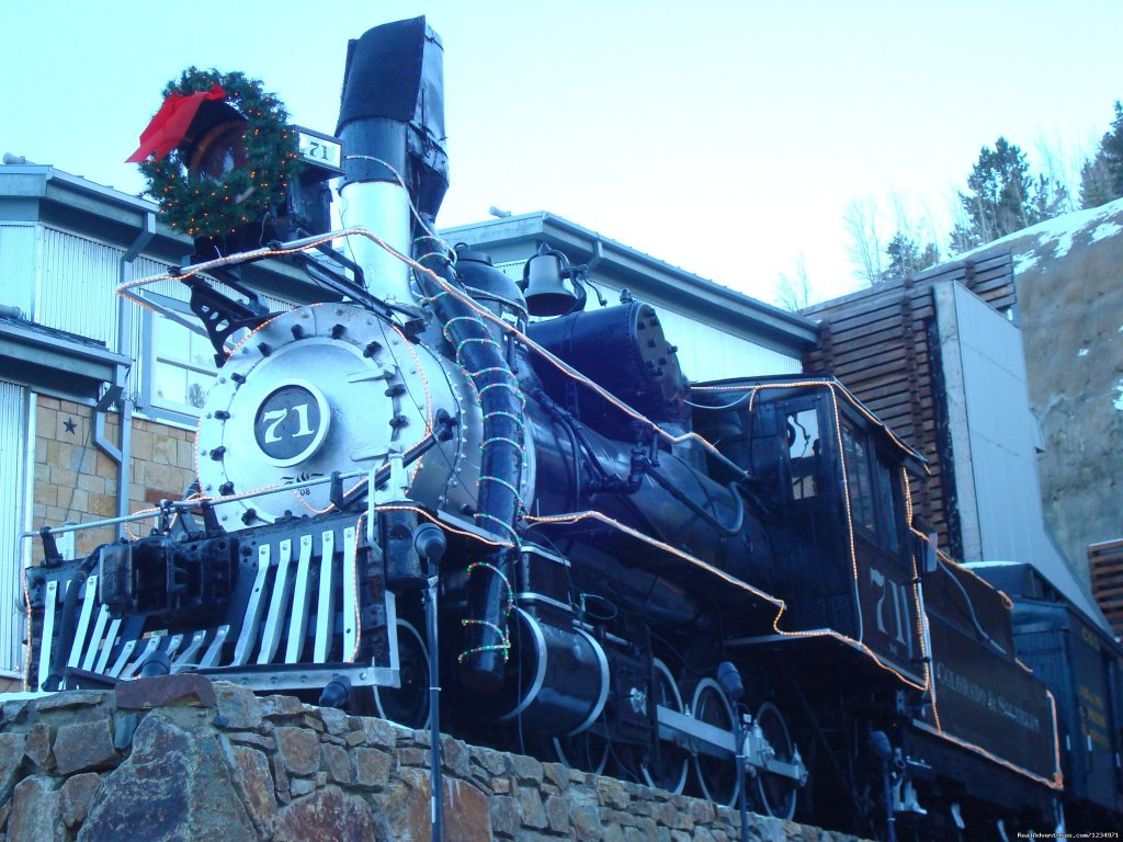 Old Train In Central City | Image #25/25 | Victorian Retreat In Historic Town:  Mtn View