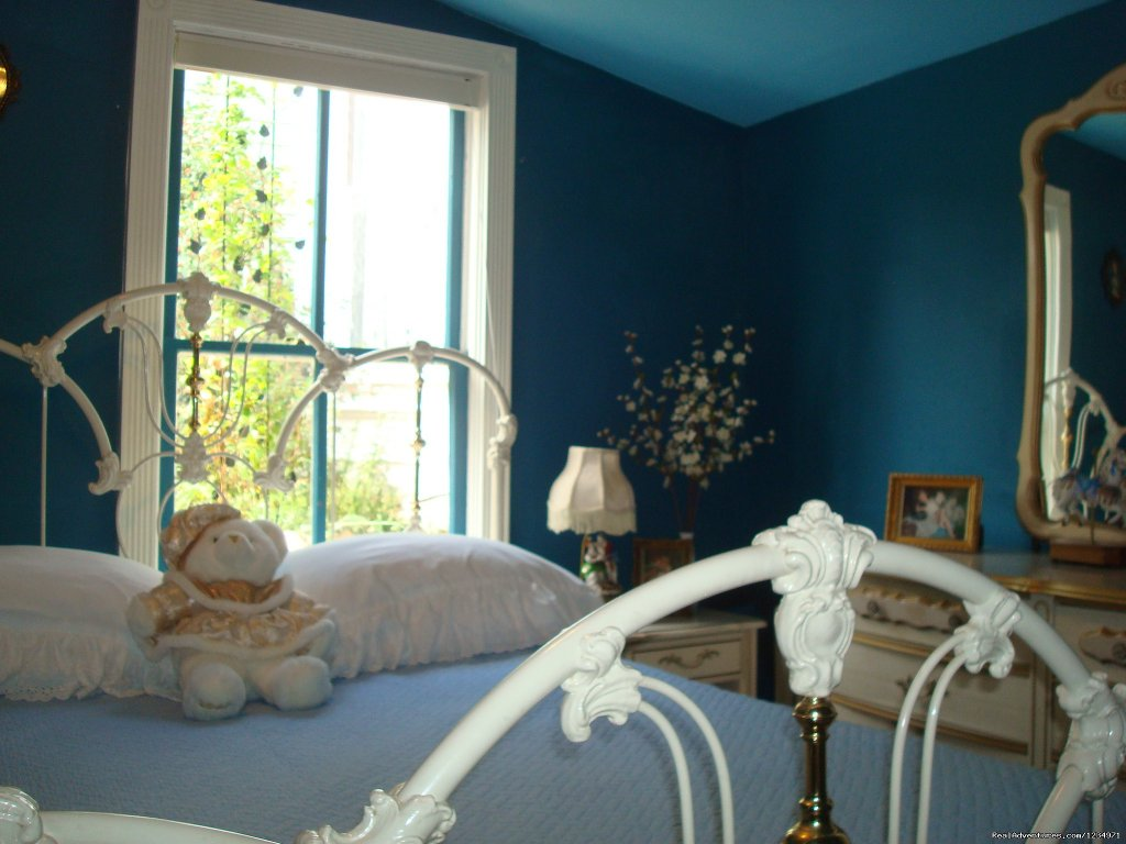 Apple Blossom Bedroom | Image #9/25 | Victorian Retreat In Historic Town:  Mtn View