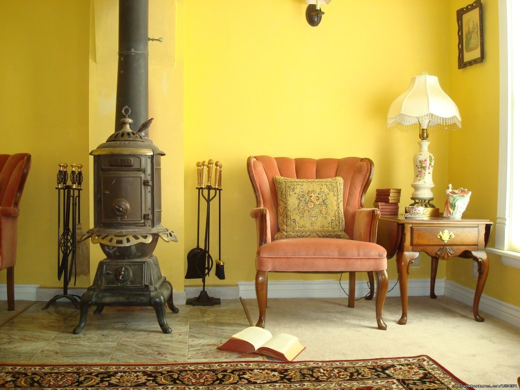 Cozy Living Room. Detail. | Image #4/25 | Victorian Retreat In Historic Town:  Mtn View